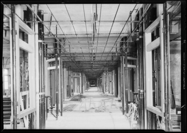 County Hospital, Western Lathing, Los Angeles, CA, 1931