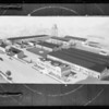 Copy wash drawing of Axelson plant, Southern California, 1929