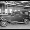 Wrecked Graham-Paige, Woodward garage, Southern California, 1931