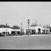Service station at Wilshire Boulevard and South New Hampshire Avenue, Los Angeles, CA, 1930