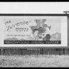 Arrowhead Water billboard, Southern California, 1931