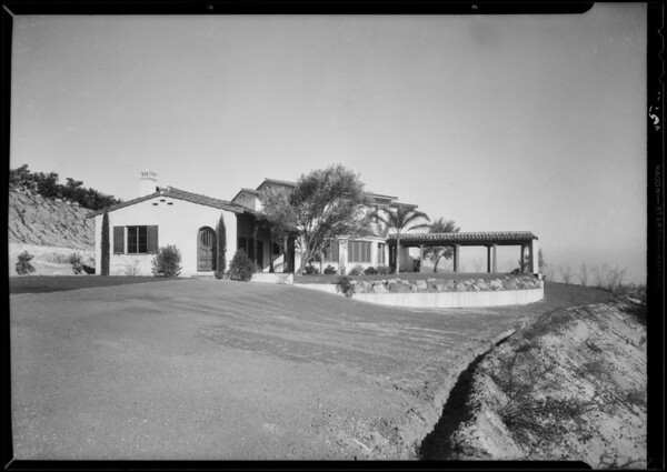 Homes in Bel Air, Los Angeles, CA, 1932