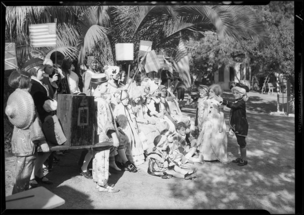 George Washington party, Southern California, 1931