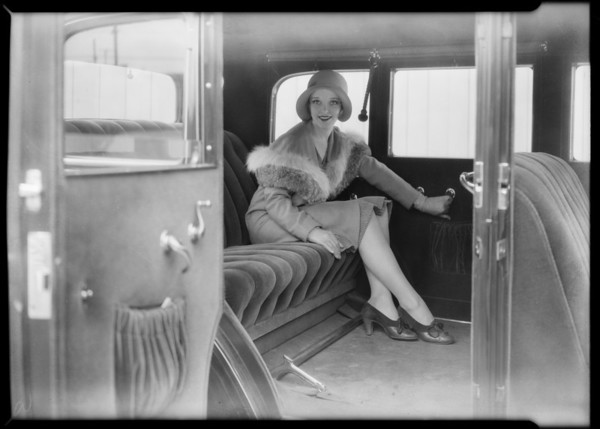 Sally Blane of RKO for composite, Southern California, 1930