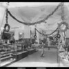 Interiors of the store & statue, Southern California, 1925