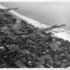 Aerial view of Santa Monica looking southwest
