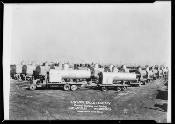 Advance Truck Company, Southern California, 1931