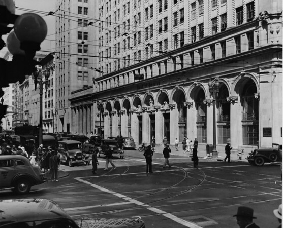 Spring Street and Bank of America