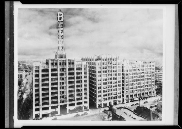 Bendix Building, Southern California, 1931