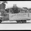 Pacific Door & Sash Company truck, Southern California, 1929