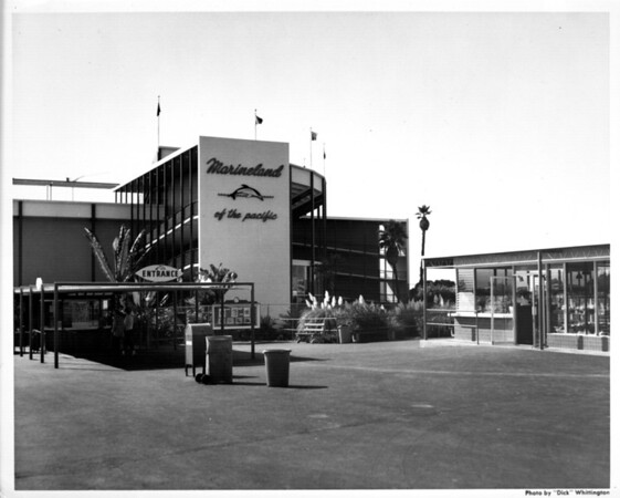Marineland of the Pacific, exterior view main entrance