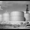Tanks at Signal Hill, CA, 1930