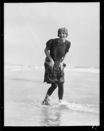 Bathing suits 1880-1931, Southern California, 1931