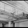 Plumbing installations, general hospital, Los Angeles, CA, 1931