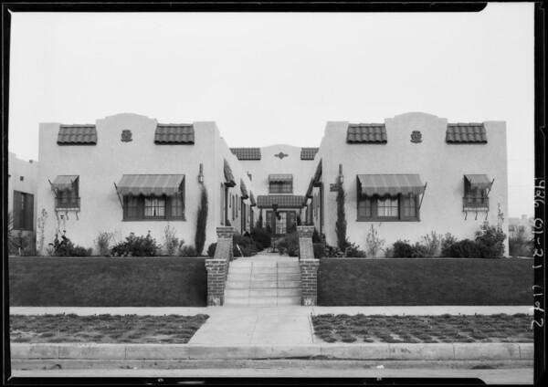 522 North Alta Vista Boulevard, Los Angeles, CA, 1926