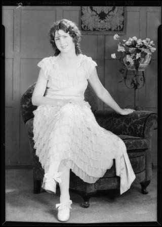 Dancing poses in studio, Southern California, 1929
