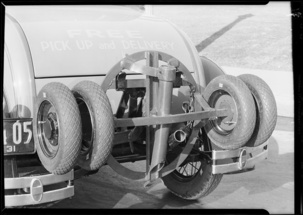 Ford pick-up attachment, Southern California, 1931