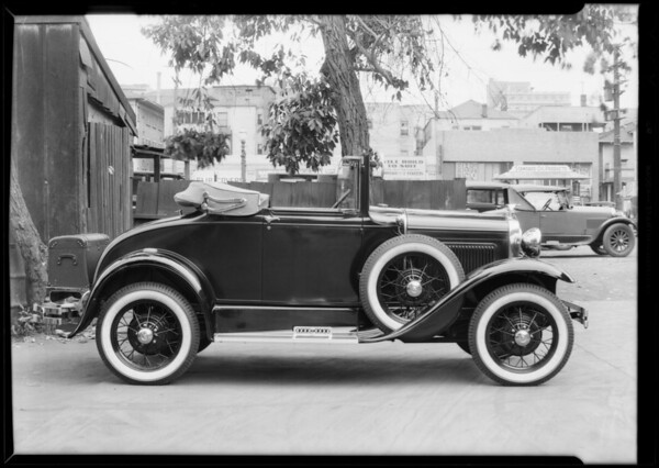 Ford Cabriolet, Nelson & Price, Southern California, 1930