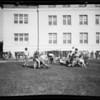 Manual Arts football practice, Los Angeles, CA, 1929