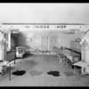 Bridge room & groups, Los Angeles, CA, 1930