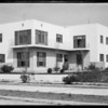 Apartment houses, Leimert Co. Incorporated, Southern California, 1931