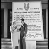 Clara Bow pledge, Southern California, 1931