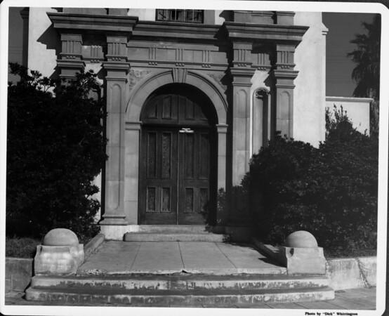 Depot entrance near Mission Beach