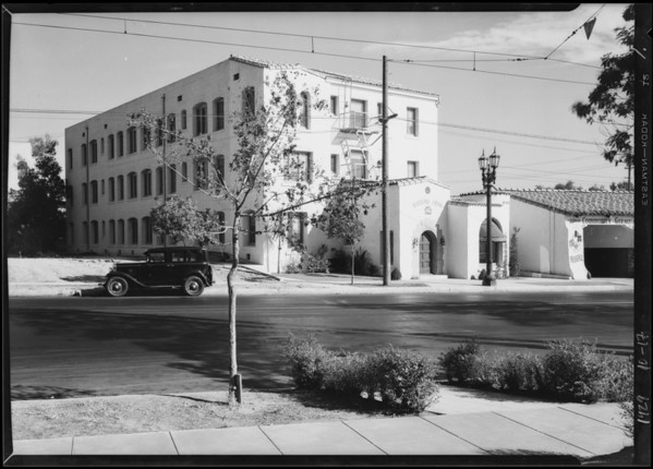 Mayford Arms apartments, 412 Glendale Avenue, Glendale, CA, 1929