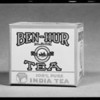 Tea package, Ben-Hur, Southern California, 1931