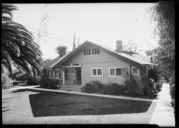 360 Foothill Boulevard, Southern California, 1926