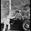 Mount Baldy record run, Jenkins, driver, Southern California, 1931