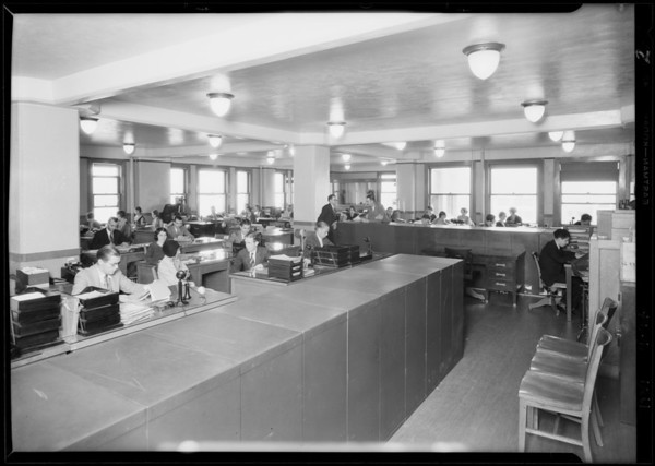 Office of Union Indemnity, 724 South Spring Street, Los Angeles, CA, 1929