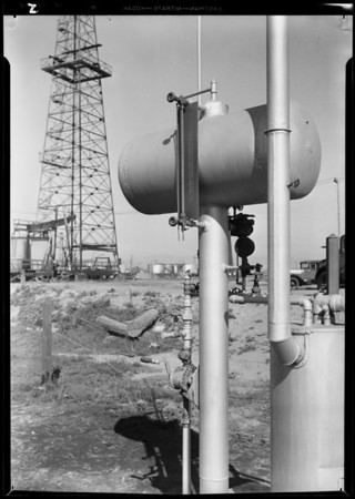Installation, Venice fields, Pacific Pipe & Supply, Southern California, 1931
