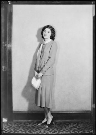 Red head girls, 'Millie', Bud Murray, Southern California, 1931