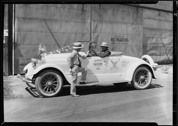 Wilshire Oil Co. garage, Southern California, 1929