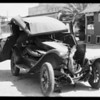 Wrecked Pontiac at 6511 South Avalon Boulevard, Los Angeles, CA, 1931