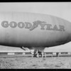 Lindbergh & Goodyear blimp 'Volunteer', Southern California, 1929
