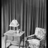 Invincible radio, cheese table model, Southern California, 1930