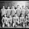 Basketball team, Security Bank, Southern California, 1925