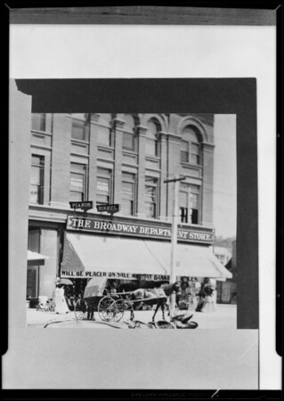 Old store photo, Southern California, 1931
