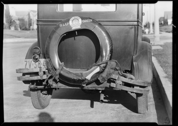 Essex Coach, Southern California, 1930
