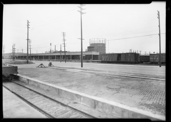 Backgrounds for composite, Los Angeles, CA, 1930