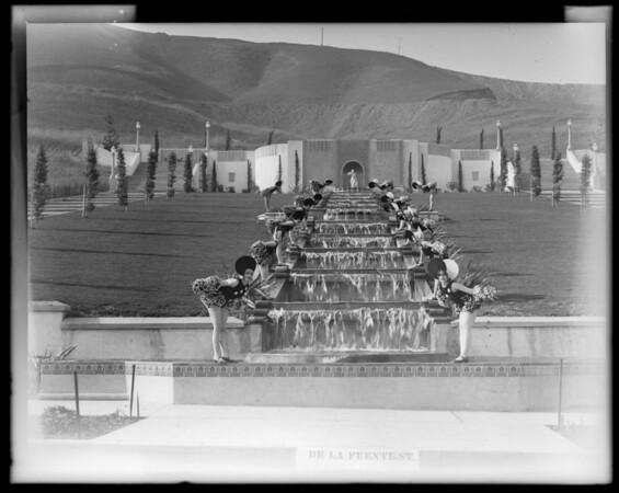 Fanchon & Marco girls at Midwick View Estates, Monterey Park, CA, 1930