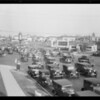 Traffic, Wilshire Boulevard and South Western Avenue, Los Angeles, CA, 1930