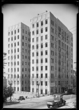 Montecito Apartments, North Cherokee Avenue & Franklin Avenue, Los Angeles, CA, 1931