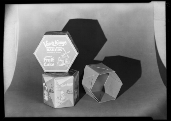 Boxes, Hollywood Paper Box Co., Southern California, 1930