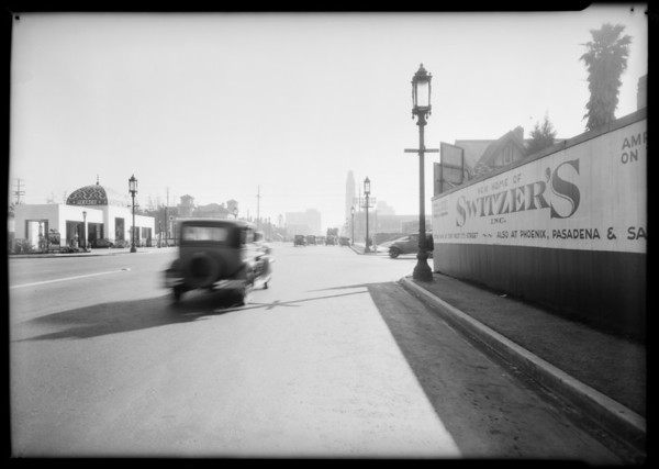 Intersection of Wilshire Boulevard & South New Hampshire Avenue, Los Angeles, CA, 1931
