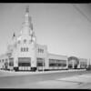 Vermont Avenue market exterior, Hattem's Market, 8039 South Vermont Avenue, Los Angeles, CA, 1931