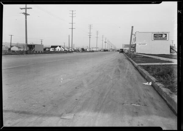 Intersection at West Pico Boulevard & Veteran Avenue, Los Angeles, CA, 1930