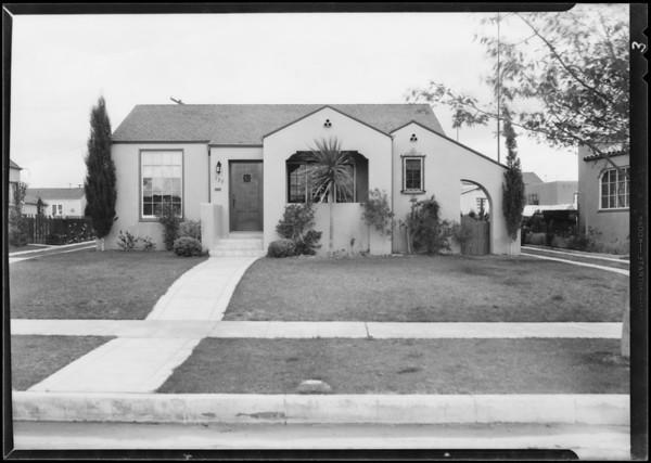 120 West Fairview Boulevard, 125 West Fairview Boulevard, 303 Hargrave Street, Inglewood, CA, 1930